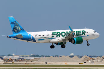 N341FR - Frontier Airlines Airbus A320