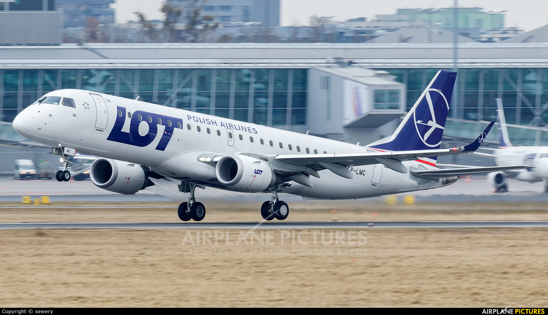 LOT - Polish Airlines SP-LMC aircraft at Warsaw - Frederic Chopin