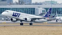 SP-LMC - LOT - Polish Airlines Embraer ERJ-190 (190-100) aircraft