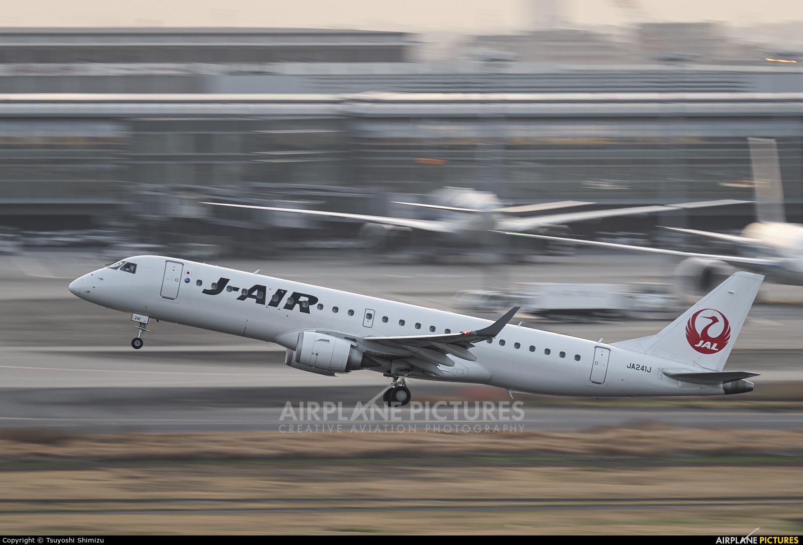 J-Air JA241J aircraft at Tokyo - Haneda Intl