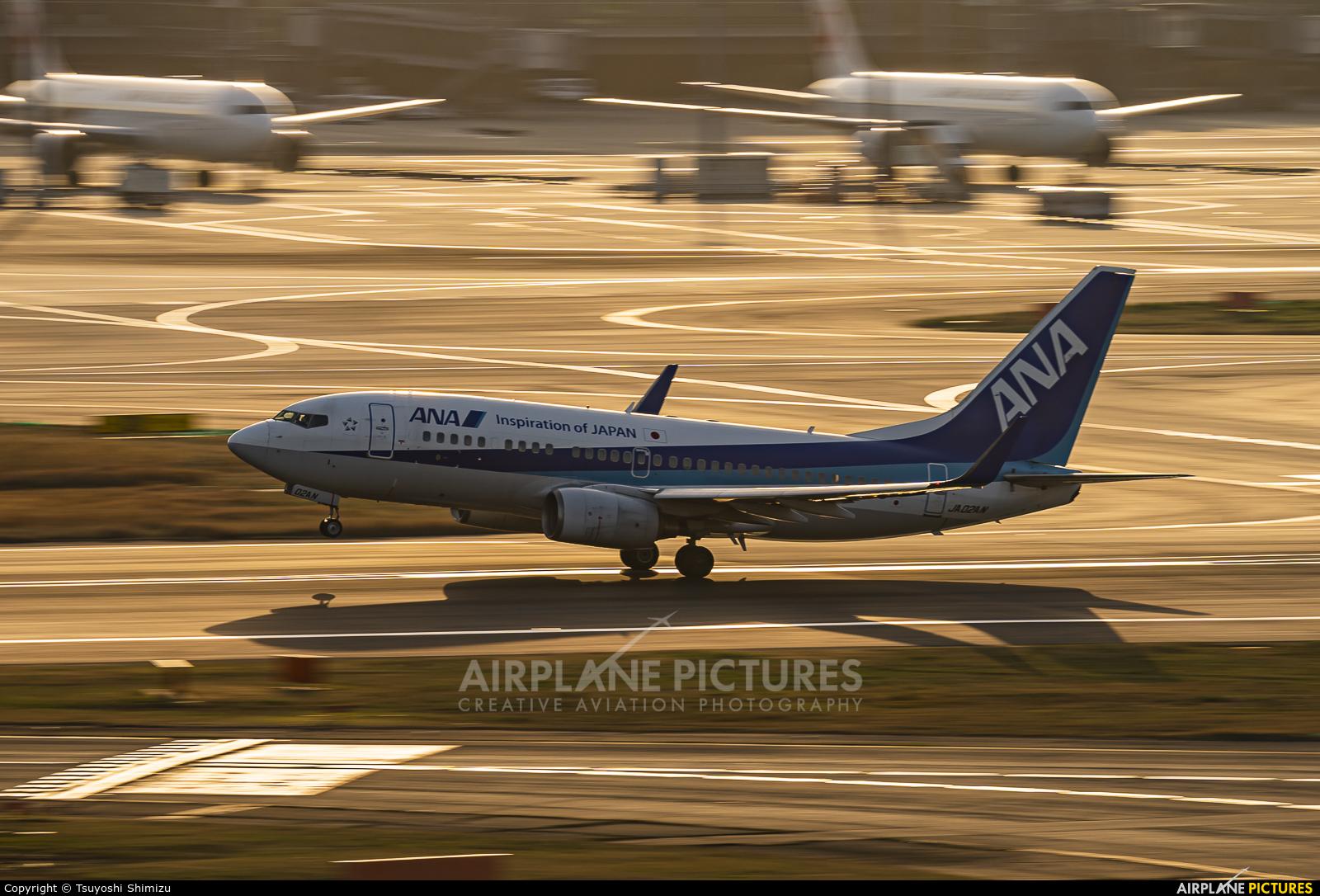ANA - All Nippon Airways JA02AN aircraft at Tokyo - Haneda Intl