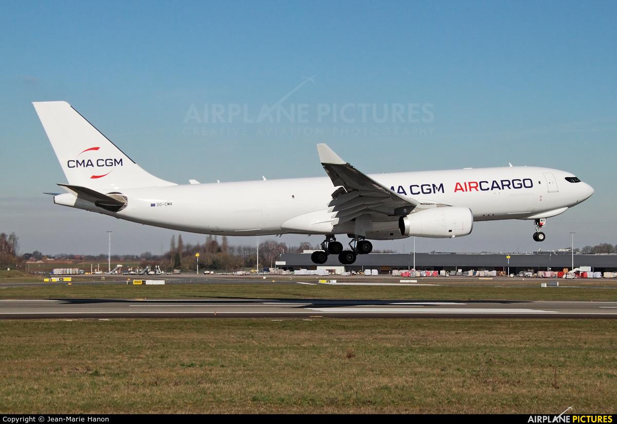 CMA CGM Aircargo (Air Belgium) OO-CMA aircraft at Liège-Bierset