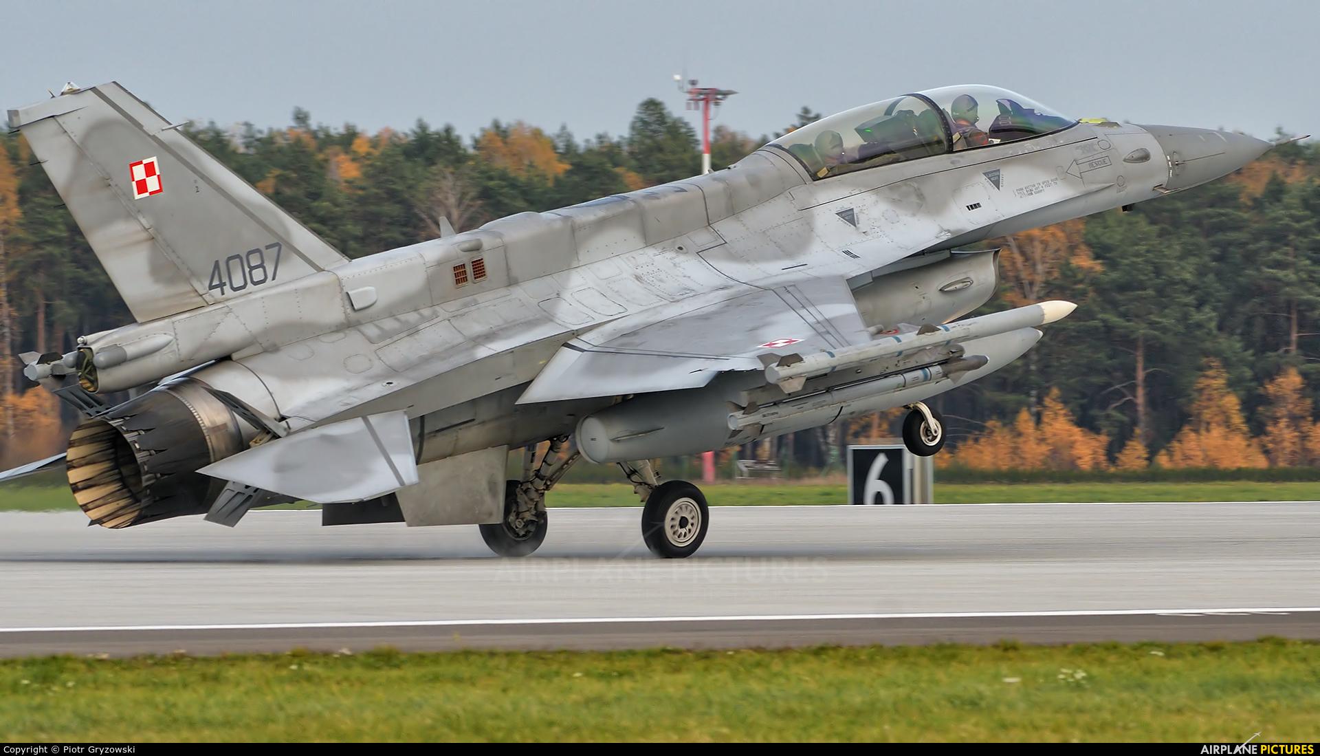 Poland - Air Force 4087 aircraft at Łask AB