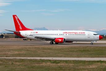 ZA-ALB - Albawings Boeing 737-400