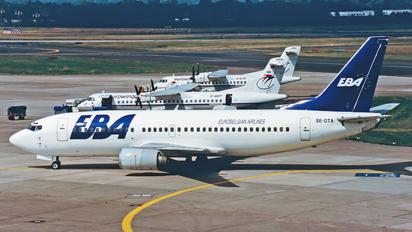 SE-DTA - EBA - Eurobelgian Airlines Boeing 737-300