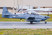USAF Super Tucano taking off for its base in Afghanistan title=