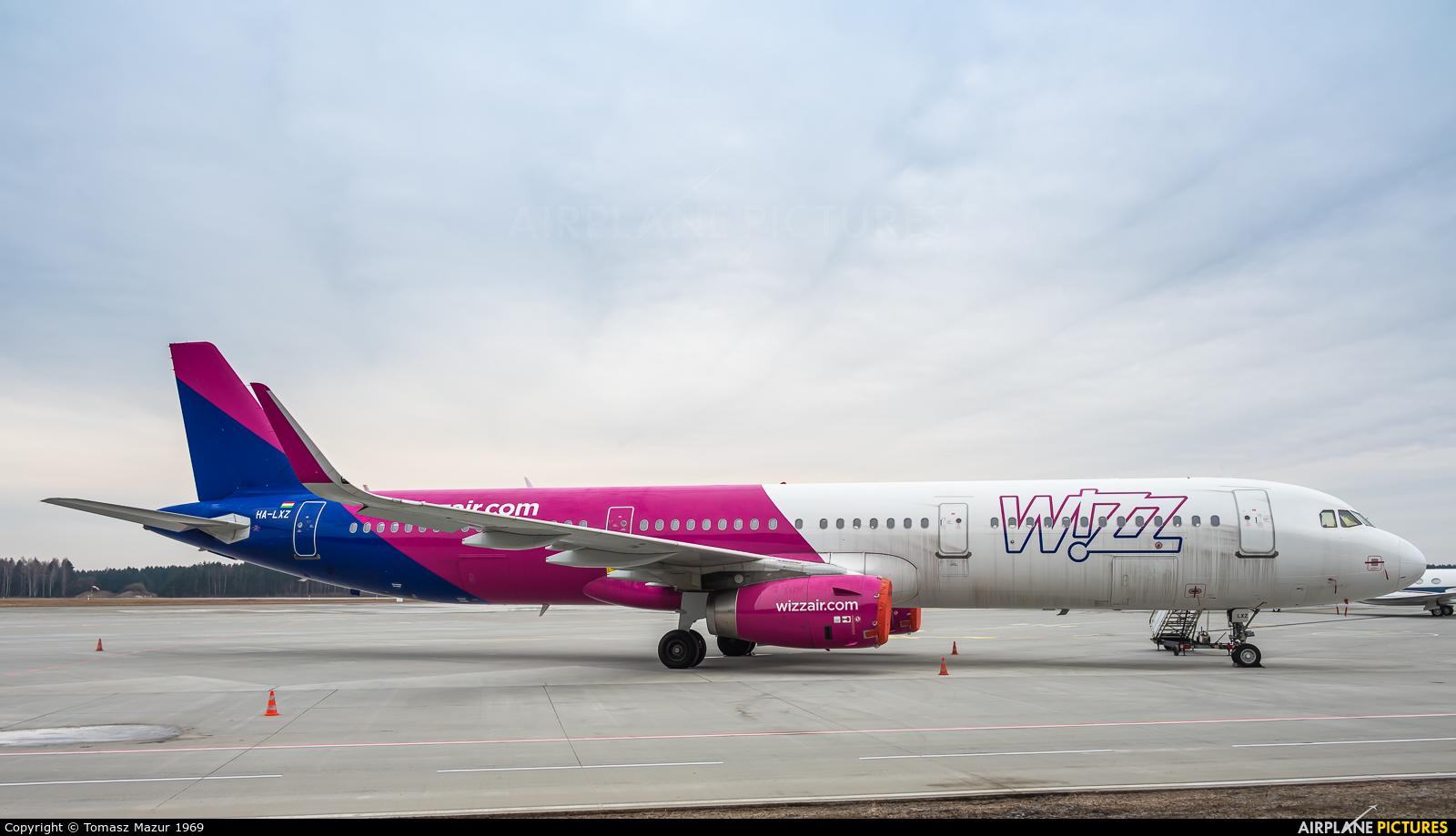 Wizz Air HA-LXZ aircraft at Katowice - Pyrzowice