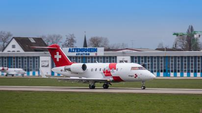 HB-JWC - REGA Swiss Air Ambulance  Bombardier CL-600-2B16 Challenger 604