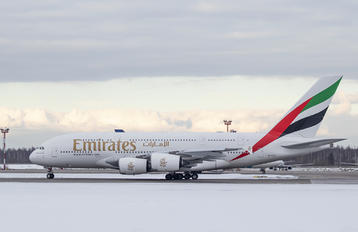 A6-EVK - Emirates Airlines Airbus A380