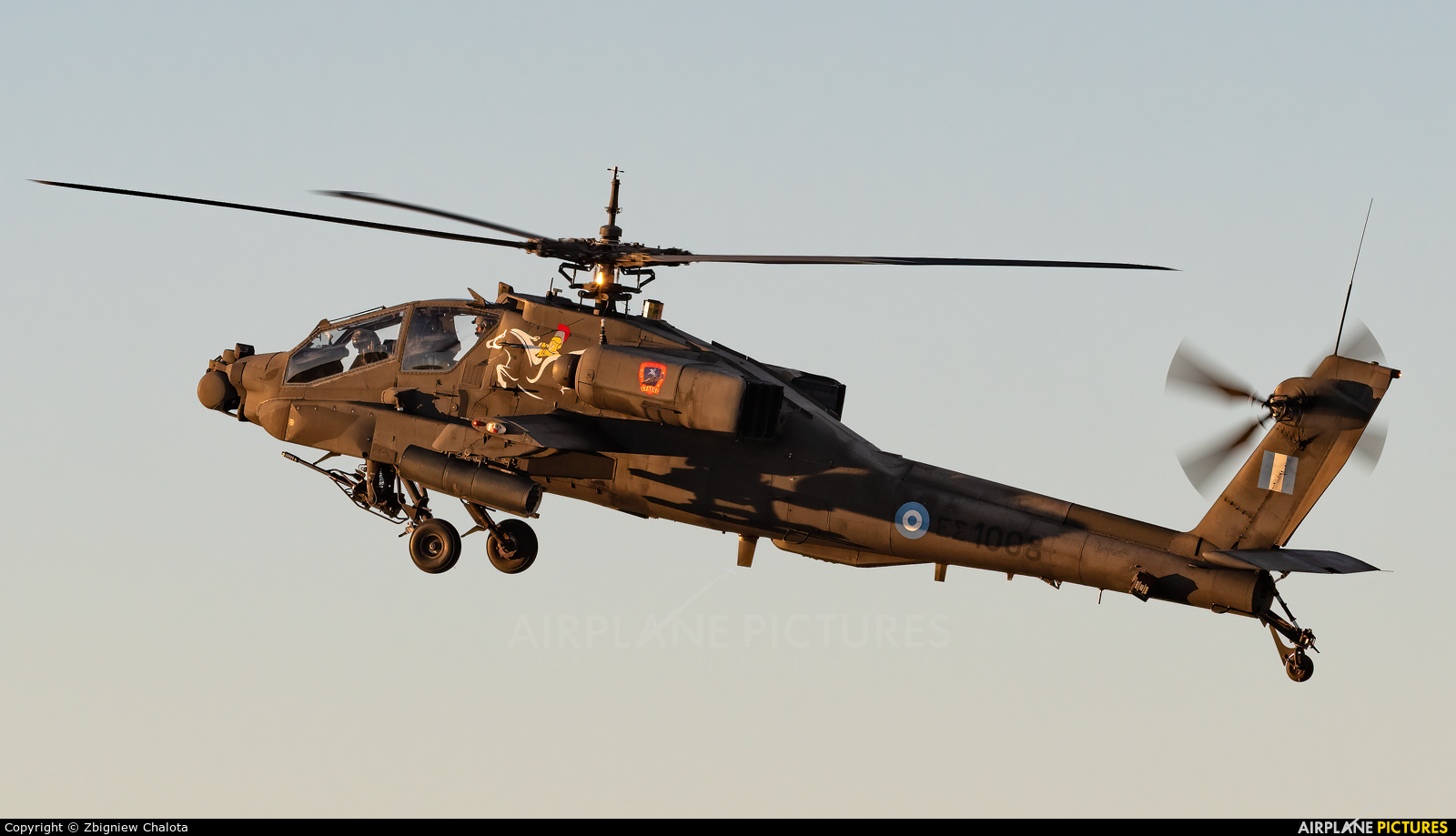 Greece - Hellenic Army ES1008 aircraft at Tanagra