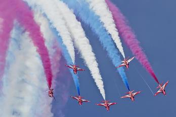 "XX227 - Royal Air Force ""Red Arrows"" British Aerospace Hawk T.1/ 1A"
