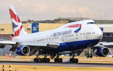 G-CIVF - British Airways Boeing 747-400