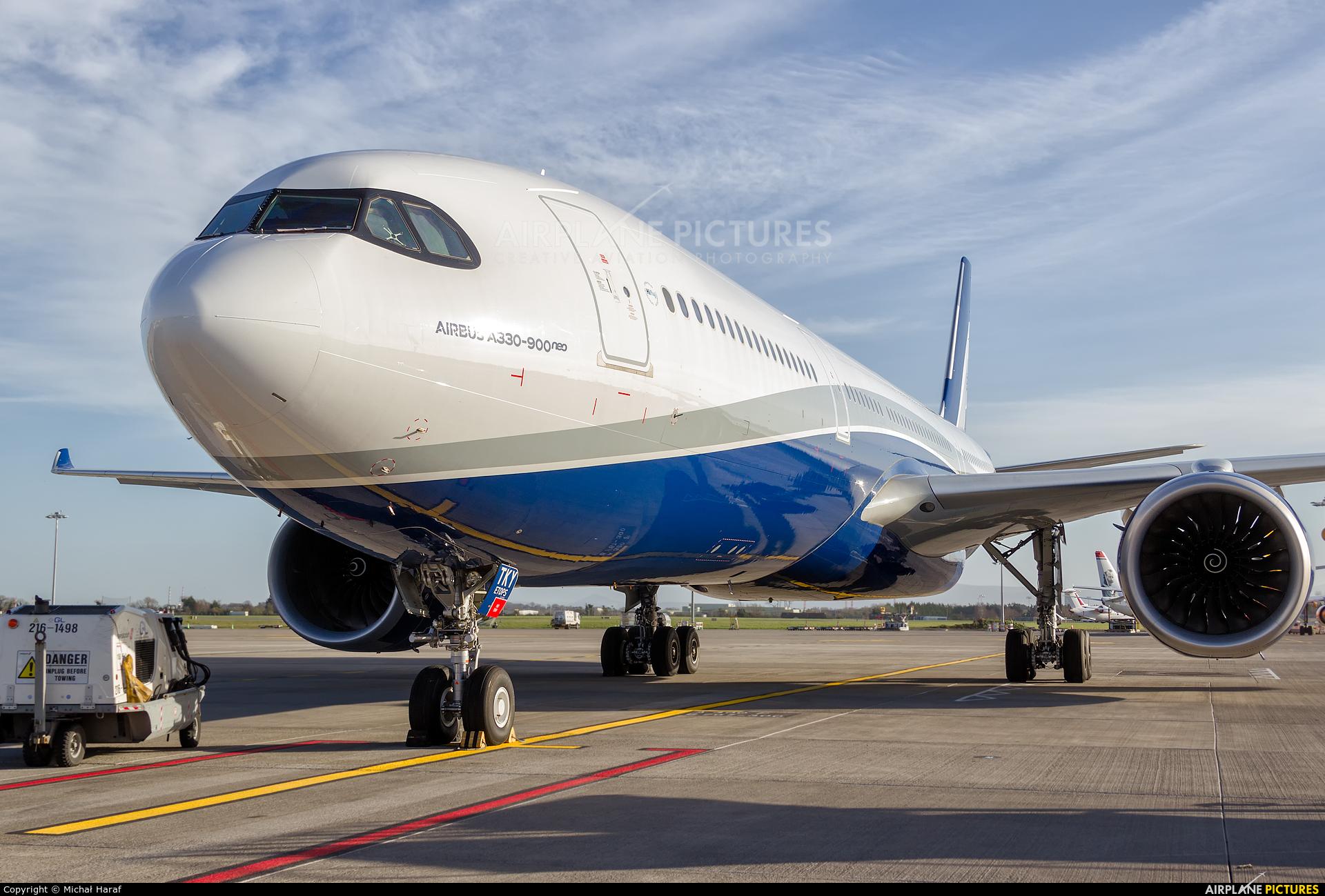 Hi Fly CS-TKY aircraft at Dublin