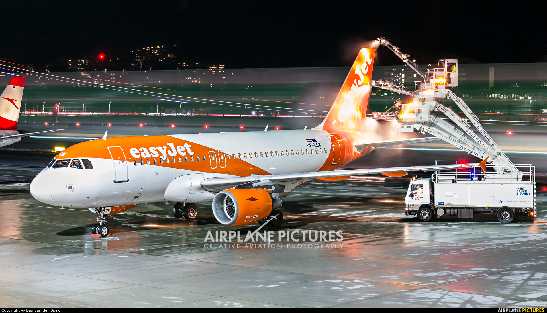 easyJet Europe OE-LQW aircraft at Innsbruck