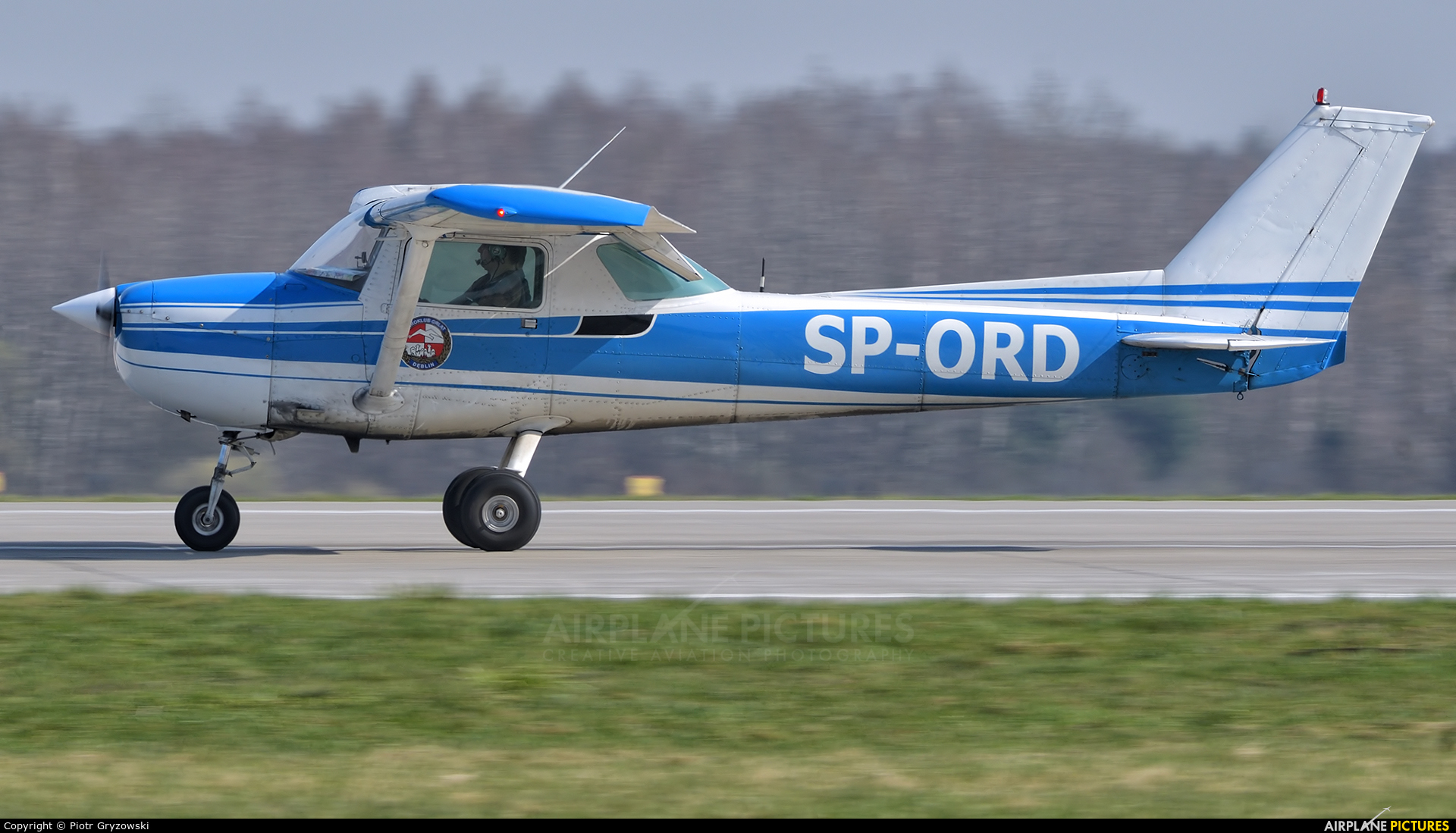 Aeroklub Orląt SP-ORD aircraft at Dęblin