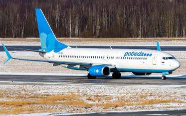 VP-BQY - Pobeda Boeing 737-800