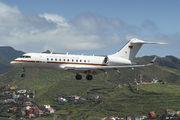 German AF Bombardier at Tenerife title=