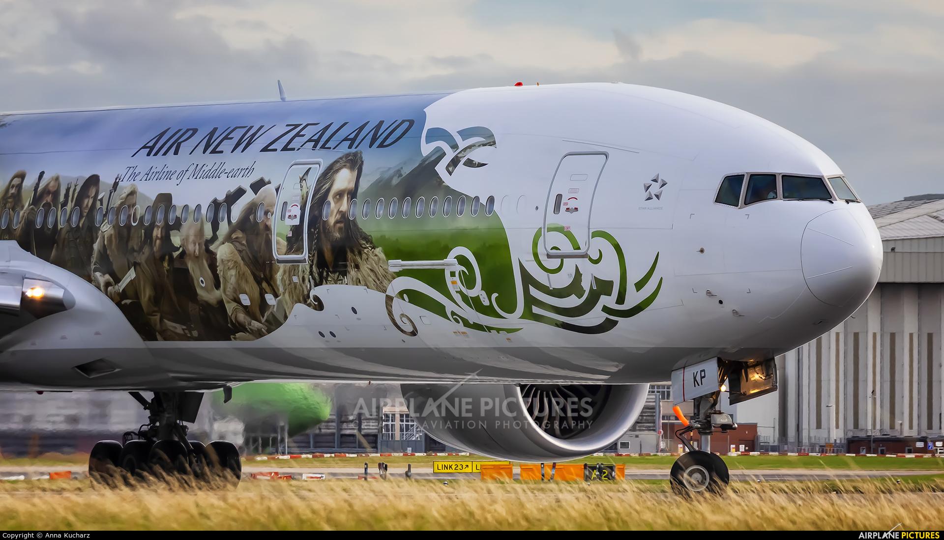 Air New Zealand ZK-OKP aircraft at London - Heathrow