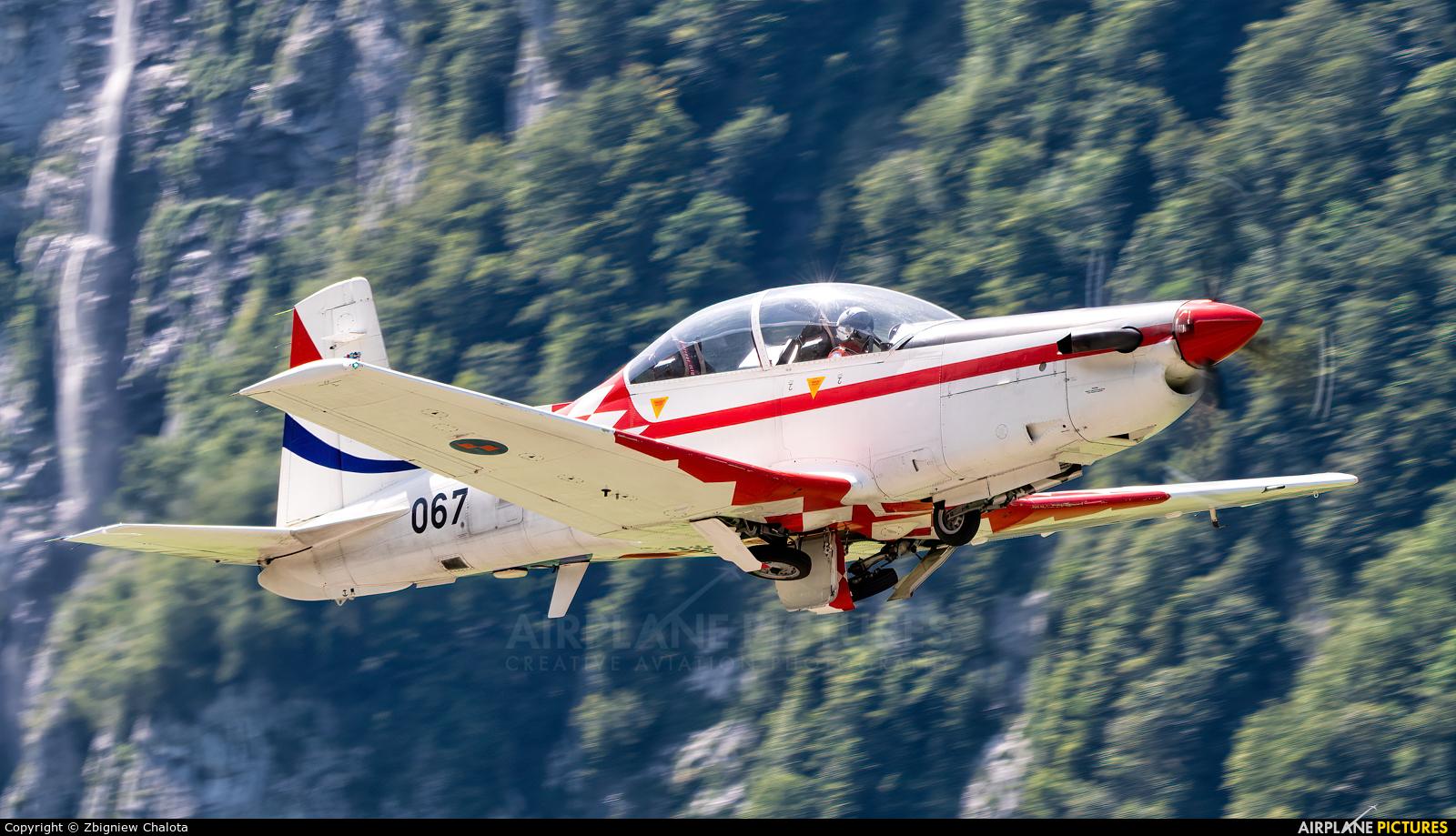 Croatia - Air Force 067 aircraft at Mollis
