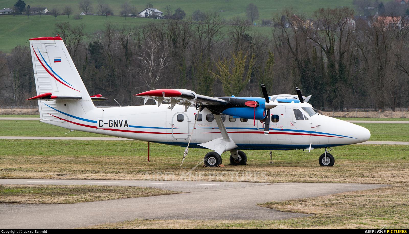 Private C-GNVA aircraft at St. Gallen - Altenrhein
