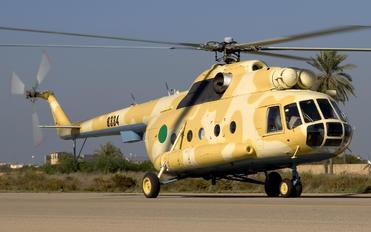 8334 - Libya - Air Force Mil Mi-8T