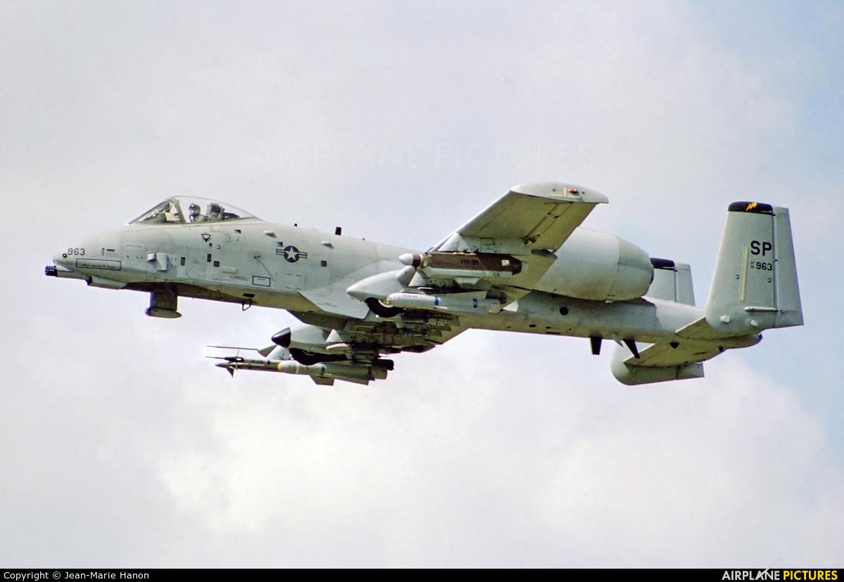USA - Air Force 81-0963 aircraft at Kleine Brogel