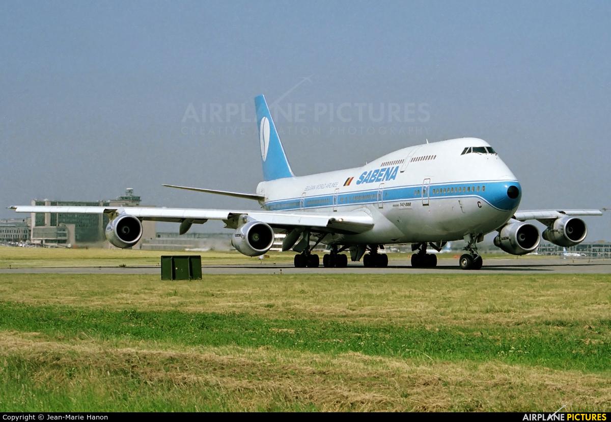 Sabena OO-SGC aircraft at Brussels - Zaventem