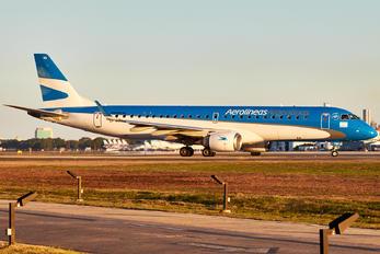 LV-CMA - Aerolineas Argentinas Embraer ERJ-190 (190-100)