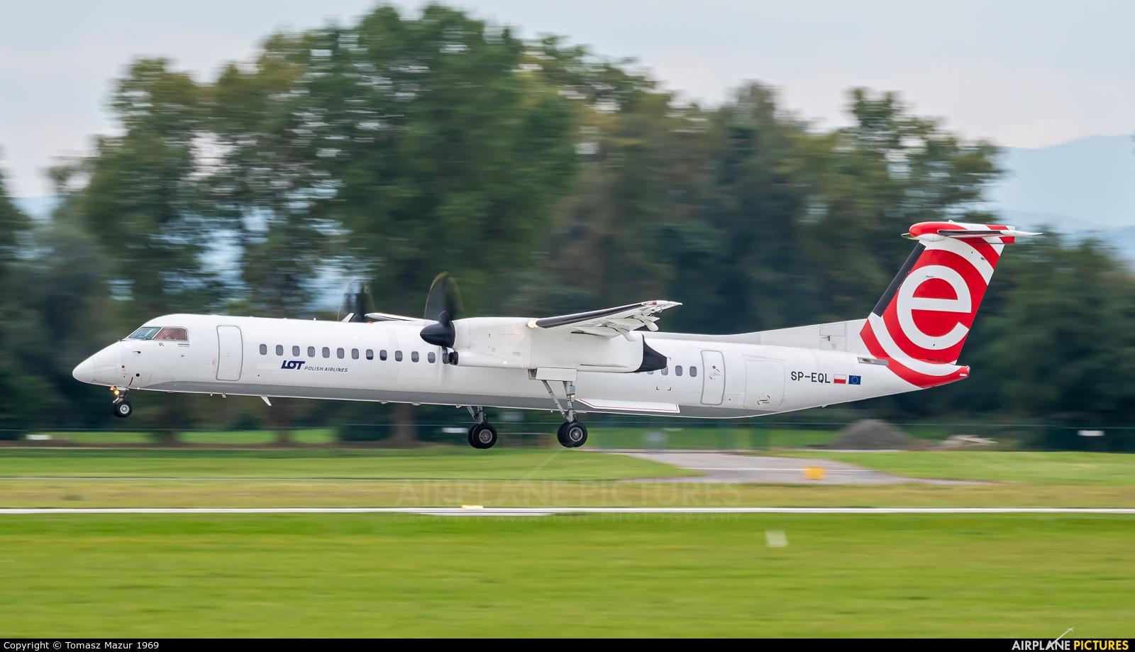 LOT - Polish Airlines SP-EQL aircraft at Kraków - John Paul II Intl