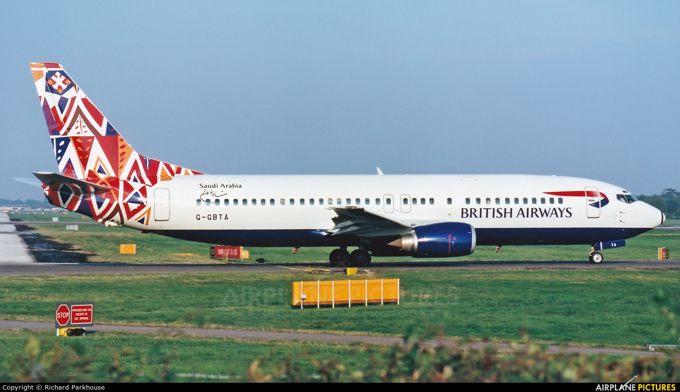 British Airways G-GBTA aircraft at London - Gatwick