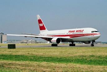 N601TW - TWA Boeing 767-200