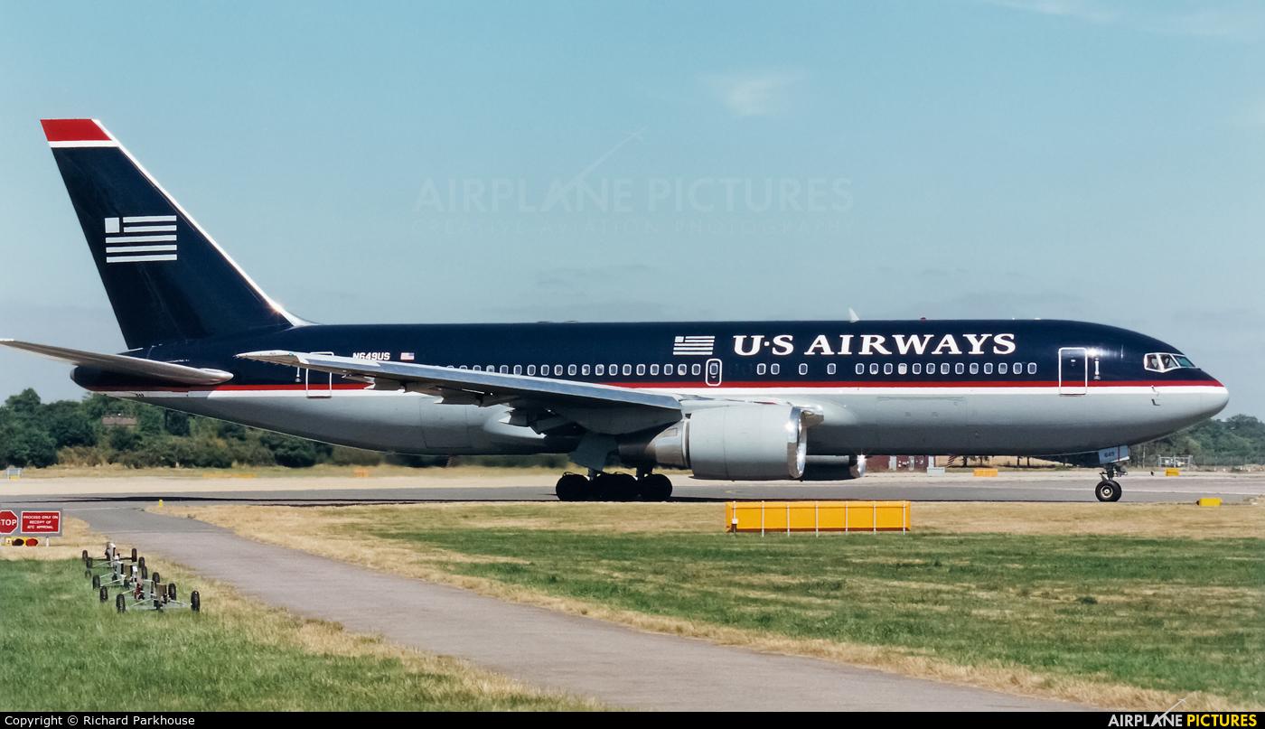 US Airways N649US aircraft at London - Gatwick