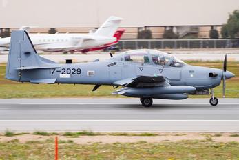 17-2029 - USA - Air Force Embraer EMB-314 Super Tucano A-29B