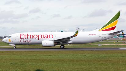 ET-AYL - Ethiopian Airlines Boeing 737-800(BCF)