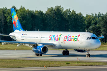 SP-HAU - Small Planet Airlines Airbus A321