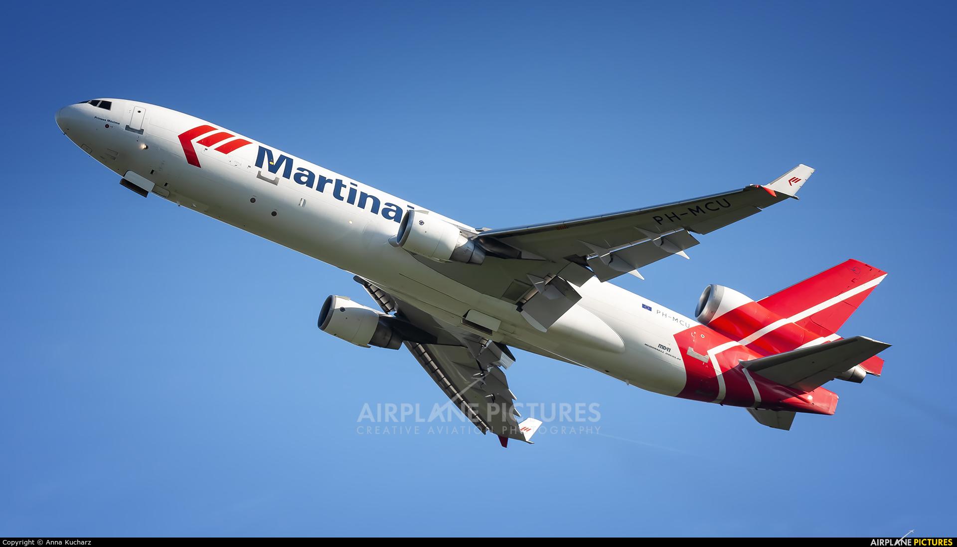 Martinair Cargo PH-MCU aircraft at Amsterdam - Schiphol