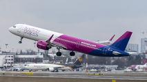 HA-LVB - Wizz Air Airbus A321 NEO aircraft