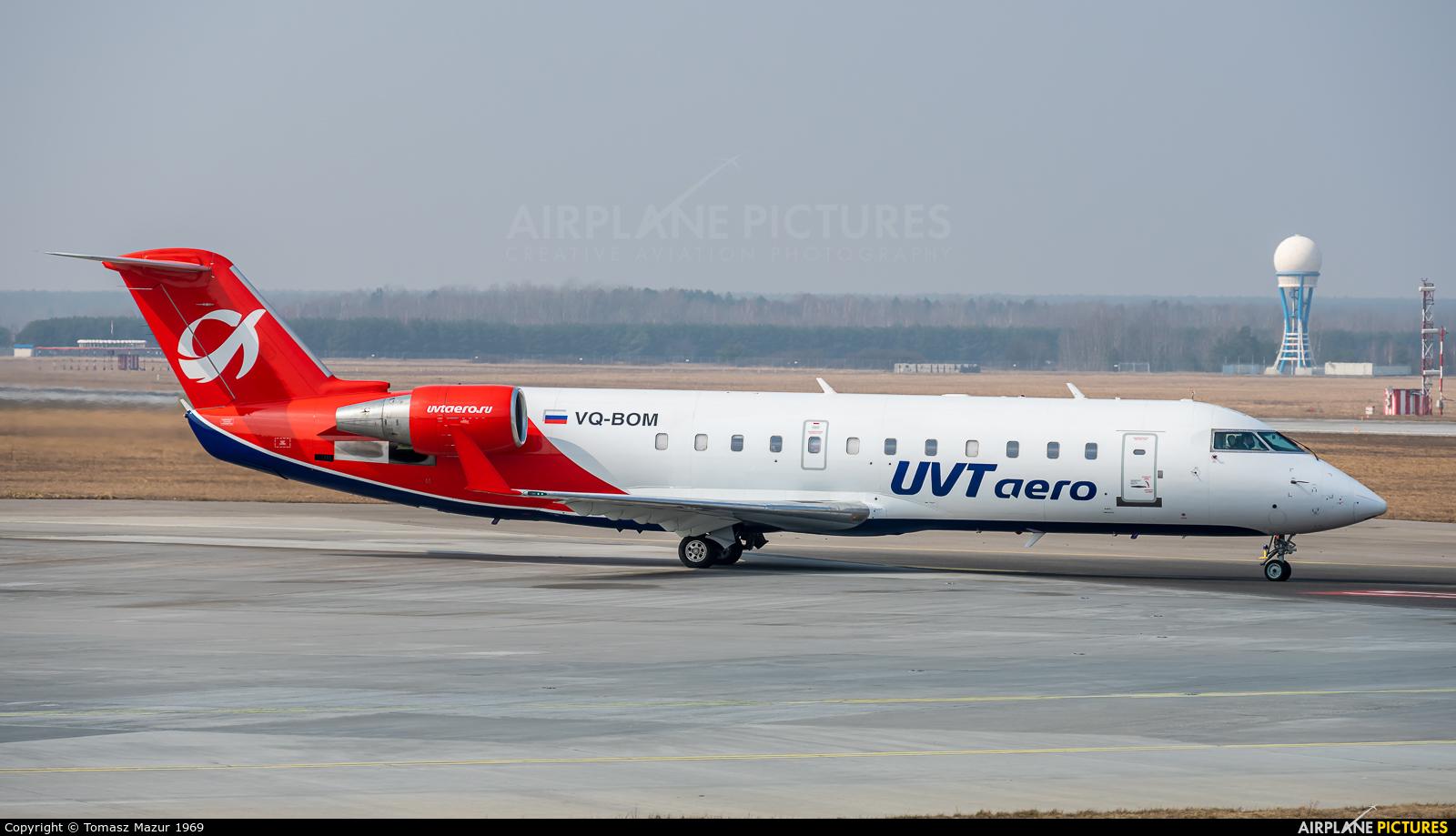 UVT-Aero VQ-BOM aircraft at Katowice - Pyrzowice