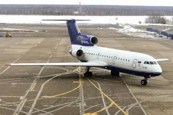 RA-42455 - Izhavia Yakovlev Yak-42