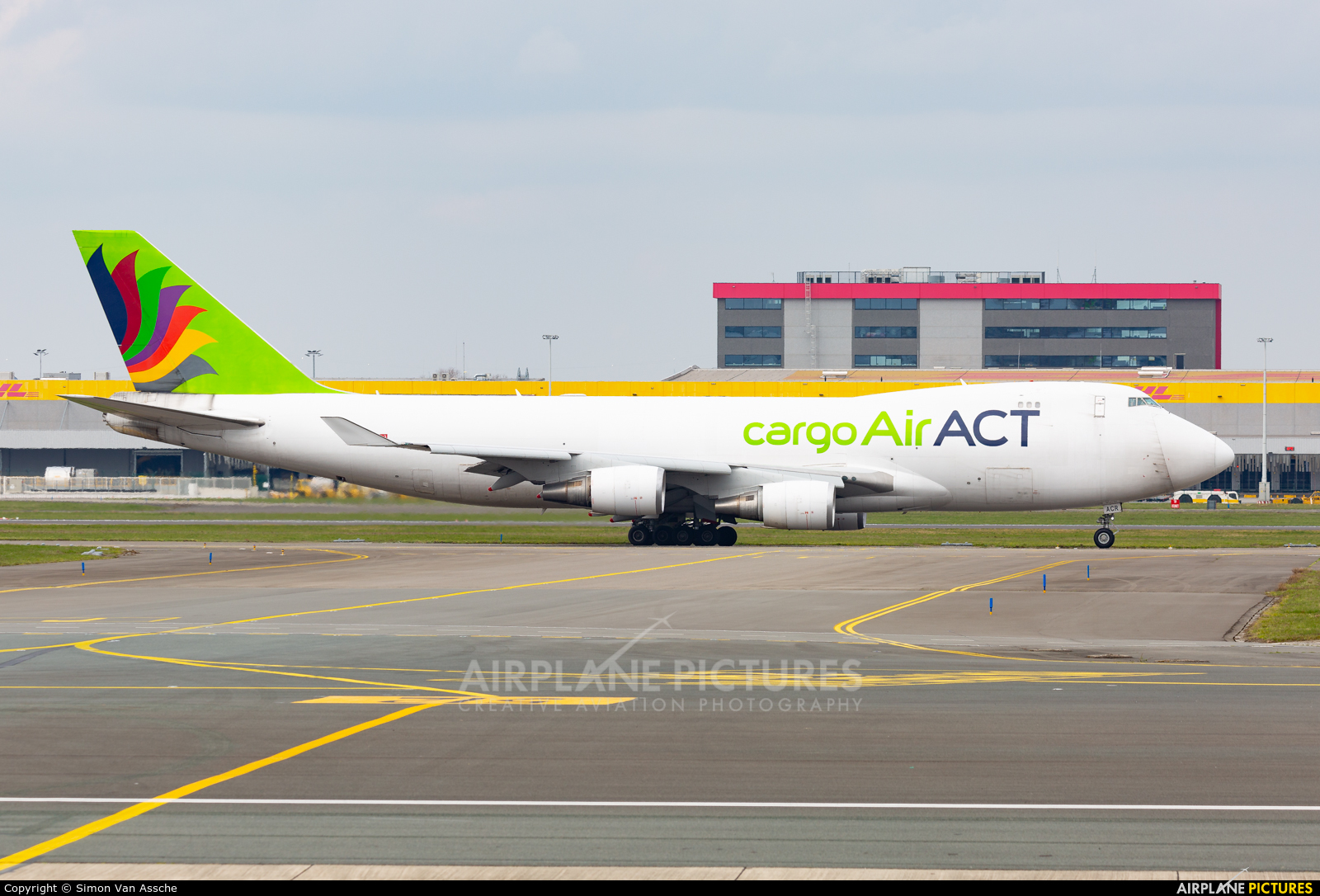 ACT Cargo TC-ACR aircraft at Brussels - Zaventem
