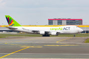 Rare visit of ACT Cargo 747F at Brussels title=