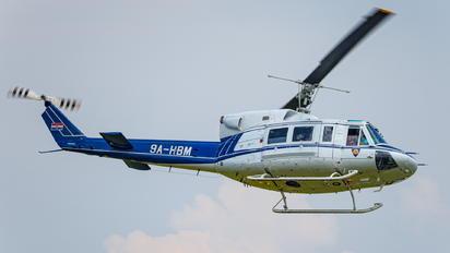 9A-HBM - Croatia - Police Agusta / Agusta-Bell AB 212ASW