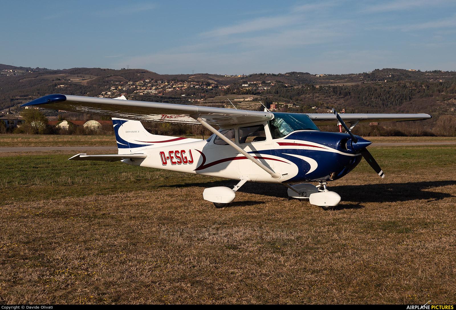 Private D-ESGJ aircraft at Verona - Boscomantico