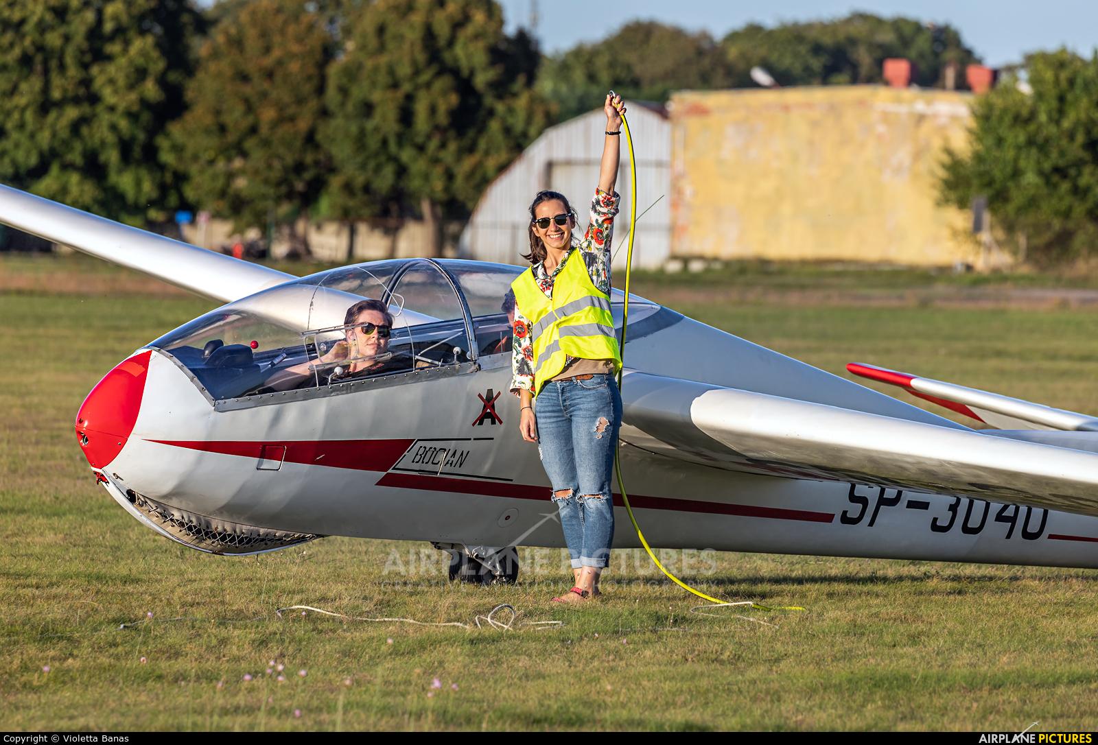 Aeroklub Bydgoski SP-3040 aircraft at Bydgoszcz - Szwederowo