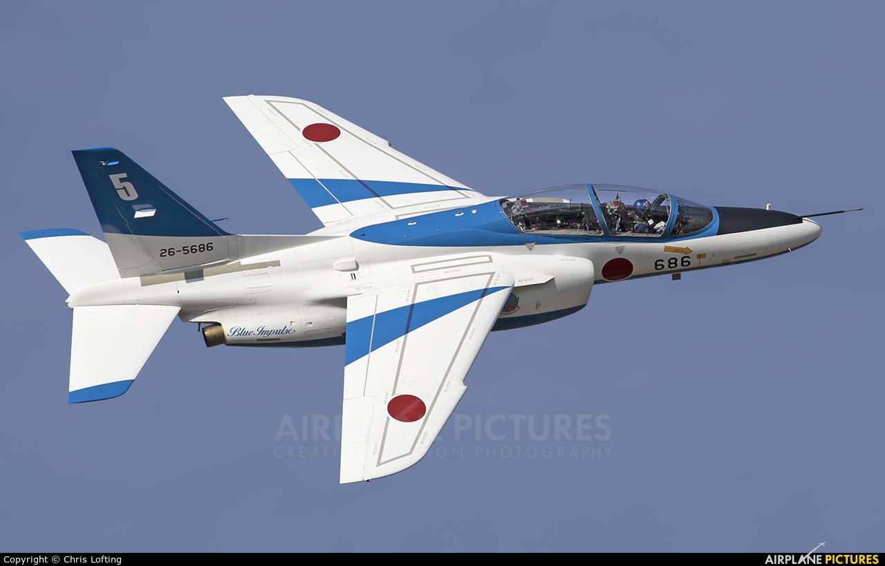Japan - ASDF: Blue Impulse 26-5686 aircraft at Hamamatsu AB