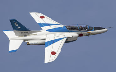 26-5686 - Japan - ASDF: Blue Impulse Kawasaki T-4