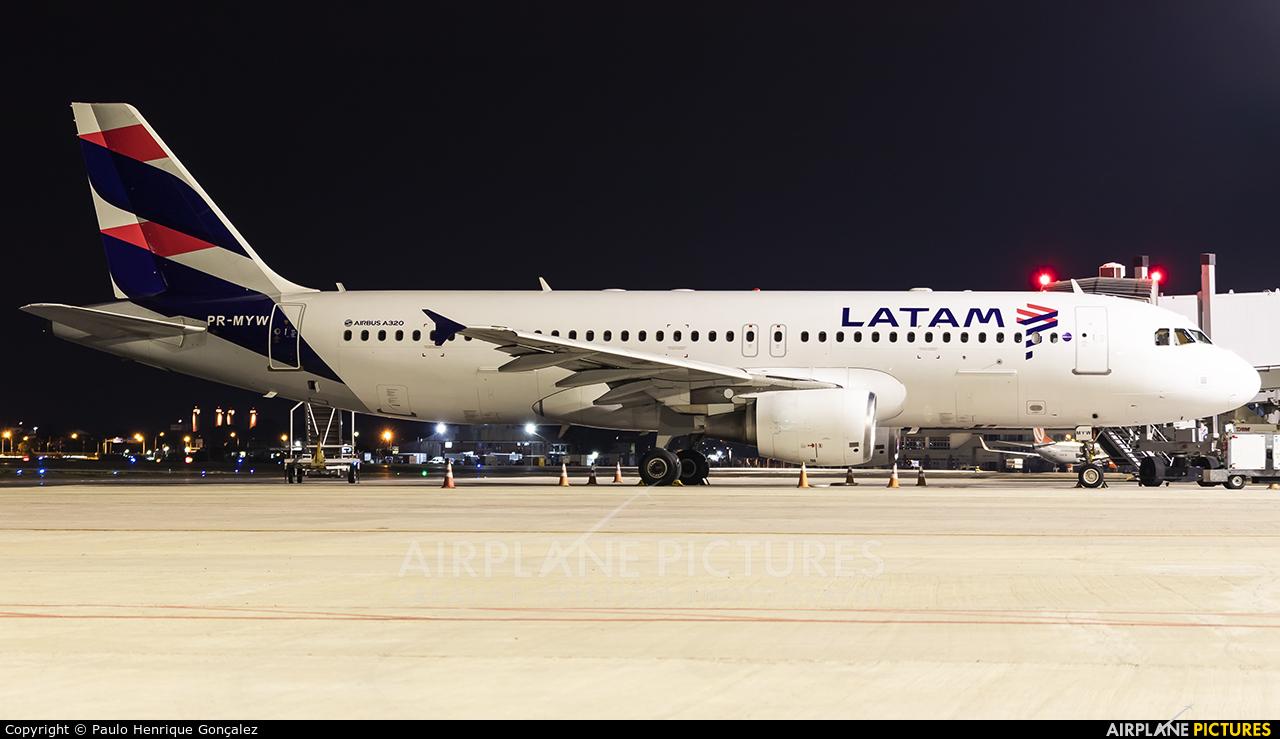 LATAM Brasil PR-MYW aircraft at Porto Alegre - Salgado Filho