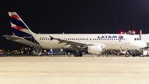 PR-MYW - LATAM Brasil Airbus A320 aircraft