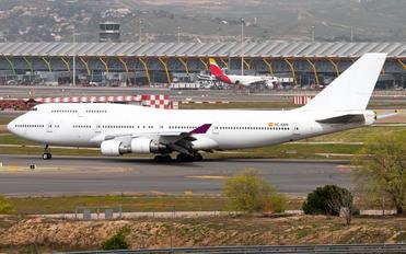 EC-KXN - Untitled Boeing 747-400