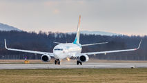 LX-LBR - Luxair Boeing 737-700 aircraft